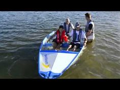 We often get asked if the Quickboat floats with water in it. So we wanted to show you it does! #portable #boat #float