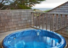Arch Rock house hot tub, Sea Ranch