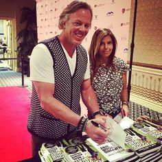#AMIE_YANCEY and I had a great time meeting so many of our students today at the #BuyingSummit and signing our new book, Flipping Your Way To Real Estate Profits. #RealEstate #FlippingVegas #GOLIATHCOMPANY