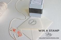 Stamp Giveaway from Yellow Fish Paperie