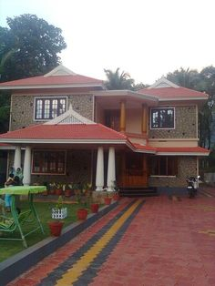 Elevation0141 Kerala Home Elevations Pinterest House Dream