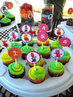 Backyardigans cupcake topper | PRINTABLE CUPCAKE TOPPERS Backyardigans Birthday Party Cupcake Toppers ...