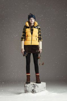 North Face White Label for South Korea - Swipe Life 3 Outdoor Wear, Outdoor Outfit, Mountain Fashion, Monte Fuji, Summer Hiking Outfit, Hiking Fashion, Casino Outfit, Outdoor Fashion, Fall Winter 2014