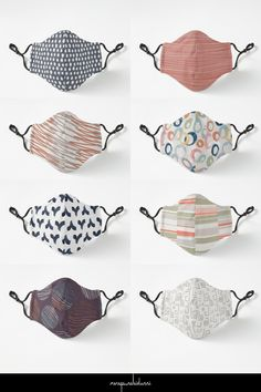 These and many more designs by Menega Sabidussi on premium quality fitted facemasks available in two sizes at Redbubble. #staysafe #giftideas #giftsforher #giftsforhim