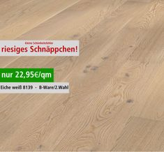 23€/m²   EasyStep-SF-Parkett-Eiche-rustikal-weiss-gebuerstet-8139-2-Wahl-B-Ware-PD-200