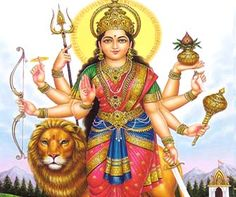 """Shri Durga Chalisa is a """"forty verse"""" prayer. These verses are usually recited or chanted by groups. The acts and deeds of Sri Durga are recalled in these verses to aid the devotee to meditate on virtuous and noble qualities."""
