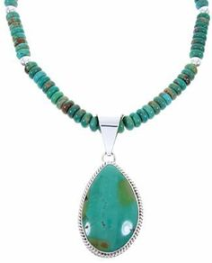 """Navajo Sterling Silver Jewelry Turquoise Pendant Necklace Set MW67894 SilverTribe. $169.99. MATERIALS: Sterling silver and Turquoise.. Southwestern Jewelry. Navajo Sterling Silver Jewelry Turquoise Pendant Necklace Set MW67894. MEASUREMENTS: Pendant measures approximately 2-3/4"""" long (including bail) and 1-1/4"""" at widest point. Necklace measures approximately 19-1/4"""" long. The set weighs 72 grams.. Save 50%! Southwestern Jewelry, Southwestern Style, Turquoise Pendant, Turquoise Jewelry, Necklace Set, Pendant Necklace, Navajo, Sterling Silver Jewelry, Jewelry Sets"""