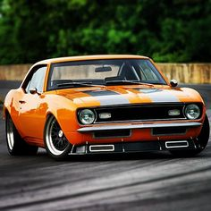 Camaro time attack