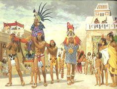 Civilizations Of Mesoamerica: Aztec, Maya, And Inca - Lessons - Tes Teach Ancient Aztecs, Ancient Civilizations, Aztec History, Aztec City, Aztec Emperor, Aztec Clothing, Aztec Culture, Anthropologie, Inka