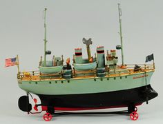 Collectors in a quest to find rare antique toys in superior condition struck gold at Bertoia's November 11 to 12 Toys on World Tour auction, whic