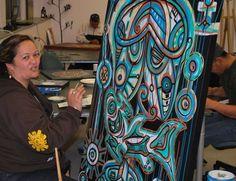 TAwera Tahuri Acrylic on Canvas Maori Art, Vera Bradley Backpack, New Zealand, Artists, Canvas, Painting, Tela, Painting Art, Canvases