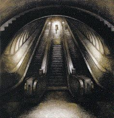 Paddington Escalator - Donna McLean
