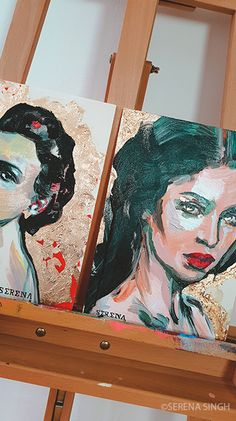 #SerenaSingh #Art #Artist #Basel #Switzerland #Neoncolors #Portrait #Painting #Modernart #colorful #Womanportrait #Contemporaryart #expressionism #Kunst