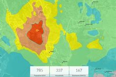 Esri Napa earthquake map -  How GIS Can Aid Emergency Management  Susan Cutter, a geography professor at the University of South Carolina, discusses the use of GIS in emergency management and the 'why of the where' when working with maps.