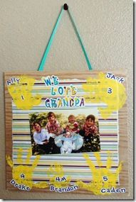 Using Letter And Number Stickers To Create Photo Memories Fathers