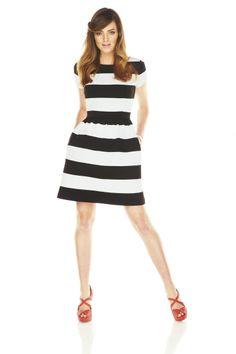 This season's must-have: sleek stripes. #ELLE #Kohls