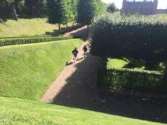 In the garden of Frederiksborg