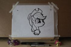 Animation Sketch: Applejack by Pancake-Skunk on DeviantArt Mlp, Computer Generated Imagery, Animation Sketches, My Little Pony Pictures, My Little Pony Friendship, Twilight Sparkle, Stop Motion, Really Cool Stuff, How To Draw Hands