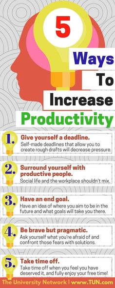 Here are five tips to iron out those procrastination tendencies and increase your productivity.
