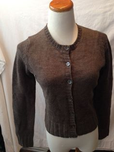J. CREW red gray brown argyle 100% CASHMERE cardigan sweater ...