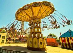 fun times back in the day :) Fair Rides, Merry Go Round, I Remember When, Amusement Parks, Back In The Day, Fun Things, Childhood Memories, Good Times, Abandoned