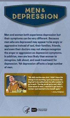 Depression - Men and Depression cover image