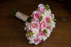 pink rose wedding bouquet | Plan It Event Design & Management | Orlando Wedding Planner | Photo by Sophia's Art Photography
