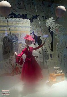 Dior doll window at Printemps department store, Paris. ©Melissa Drewry