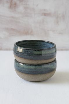 Mini Blue-Green Pottery Serving Bowls – Mad About Pottery Ceramic Mugs, Ceramic Bowls, Ceramic Pottery, Pottery Art, Slab Pottery, Pottery Painting, Pottery Ideas, Japanese Ceramics, Japanese Pottery