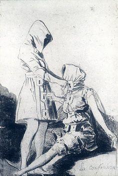 Francisco de Goya. La Confianza/ Confidence - 1797-98