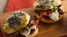 Bacon-Chicken Sliders with Raspberry-Onion Spread Recipe