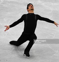 Javier Fernandez of Spain competes during the men's short program... News Photo   Getty Images