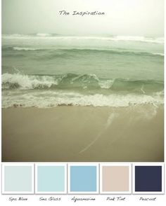 sand and surf: Colors I want in my room