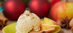 Škoricová zmrzlina s jablkami