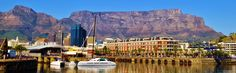 Wonderful Words: Table Mountain from the Small Craft Harbor - Storm's Cape Town Holiday Destinations, Vacation Destinations, Dream Vacations, Cape Town Tourism, Table Mountain, Places To See, South Africa, Whale, Dark Moon