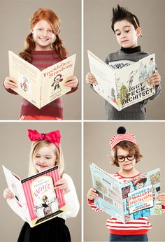 laugh make nurture organise play » Blog Archive » Halloween Costumes for Bookworms