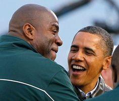 Magic and Barack*