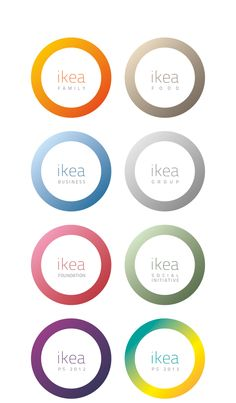 The IKEA Logo - Rebrand Concept by florian dudouit, via Behance