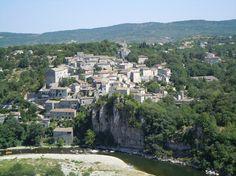 Het mooie dorp Balazuc, 15 min van Ruoms