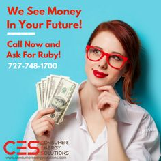 Looking to immediately increase your income? We're hiring.  Call RUBY today at 727-748-1700!   Visit us online at: http://www.consumerenergysolutions.com/?utm_content=bufferca226&utm_medium=social&utm_source=pinterest.com&utm_campaign=buffer  #CES #Jobs #Hiring #Money #Sales