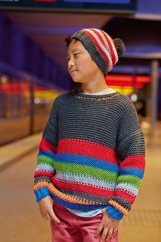 Lana Grossa PULLOVER Bingo - FILATI Kids & Teens No. 4 - Modell 99  | FILATI.cc WebShop