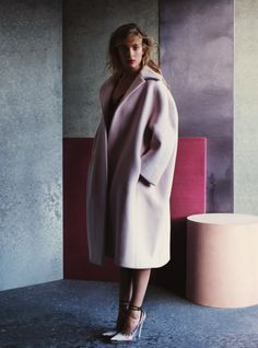 """Portrait Of A Lady"" : Ophelie Rupp : UK Harper's Bazaar September 2012"