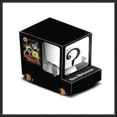 BoxZet - Ben Universe Free Paper Toy Download - http://www.papercraftsquare.com/boxzet-ben-universe-free-paper-toy-download.html