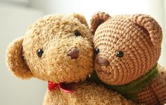 I´m happy to present You my newest amigurumi pattern: Amigurumi Crochet Teddy Bear Pattern  It all began with this post:  Making teddy bears...