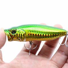 wobblers Super Quality 2 Colors 60mm/80mm Hard Bait Minnow Crank Popper Fishing lures Bass Fresh Salt water 6