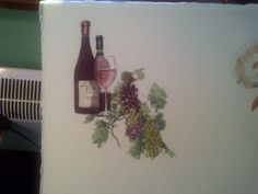 Wine list cover I did