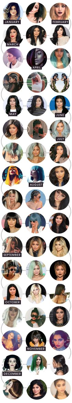 Kylie Jenners 51 Hairstyles for 2015