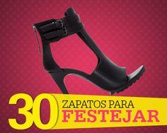 30 zapatos ideales para las fiestas, ¡busca tu par!