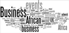 Another great African image, promoting the business opportunity in Africa.