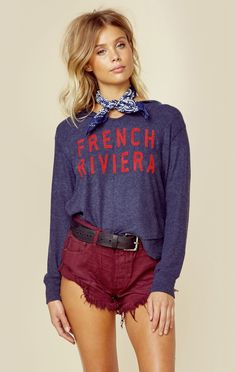 FRENCH RIVIERA HOODIE
